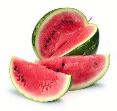 zrelý červený melón