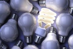 úsporná žiarovka