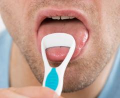 čistenie jazyka