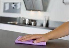 čistenie kuchyne