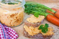 ako urobiť dobrú mrkvovú nátierku