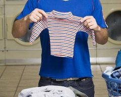 Zle opraté oblečenie