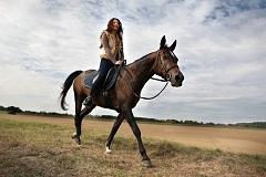 ako nasadnúť na koňa