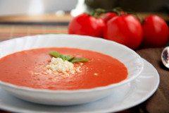 ako pripraviť paradajkovú polievku
