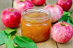 ako urobiť jablkový džem
