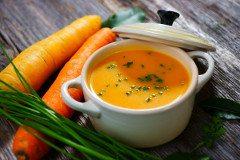 ako urobiť mrkvovú polievku