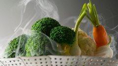 ako variť zeleninu v pare
