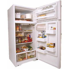 návod ako dokonale vyčistiť chladničku