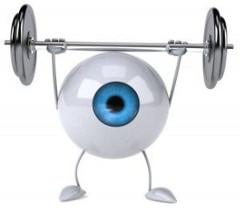 cvičenie očí