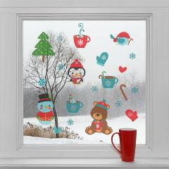 dekorácia na sklo