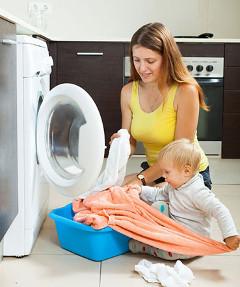 domáce povinnosti a pomoc s deťmi
