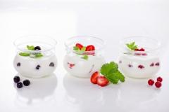 domaci ovocný jogurt