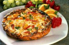 ako pripraviť frittatu so syrom