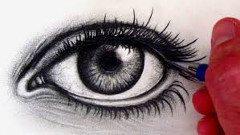 kreslenie očí