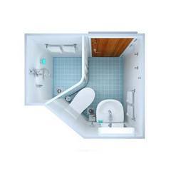 malá zrekonštruovaná kúpeľňa