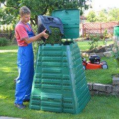 návod ako vybrať plastový kompostér