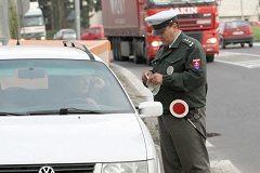 postup počas dopravnej kontroly