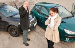 postup pri dopravnej nehode