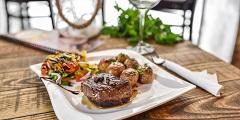 pripravte steak s koňakovou omáčkou