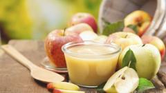 recept na domáce jablkové pyré