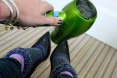 roztiahnutie topánok