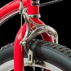 zazimovanie bicykla - brzdy