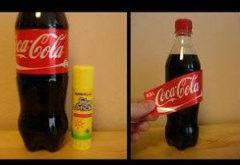 Ako ľahko vytvoriť ťahák na štítku fľaše