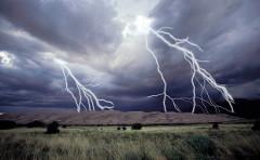 fotenie vonku v búrke