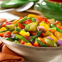 recept na hubovo zeleninové lečo