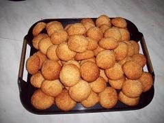 príprava bleskových kokosiek