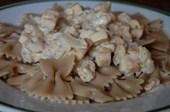 príprava cestovín s tofu