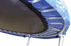 pružiny na trampolíne a ako vybrať trampolínu s ochrannou sieťou