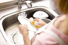 umývanie riadu a systém na udržiavanie poriadku v domácnosti