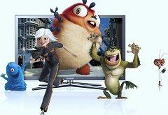 vybrať 3D televíziu