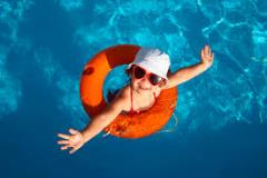 zabava slniečko a pobyt v bazene
