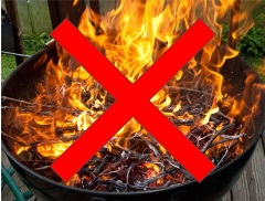 zaobchadzanie s ohnom pri grilovani