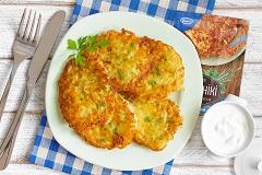 zemiakové placky z chleba