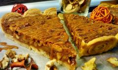 úžastný karamelový koláč