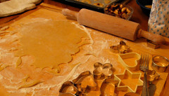 švédske medovníky pečenie