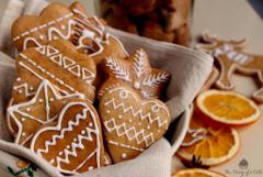 švédske vianočné medovníky