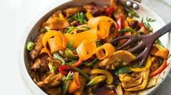Ako urobiť kura so zeleninou