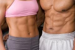 ako správne cvičiť brušné svaly