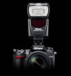 fotoaparát Nikon s bleskom