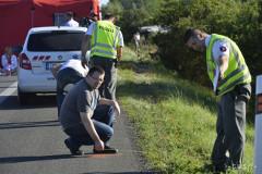 postup polície pri autonehode