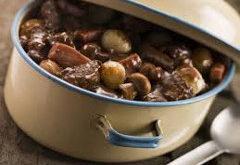 recept na mäsove rezančeky s hubami