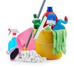 čistiace prostriedky na upratovanie