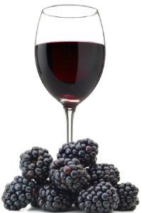 ako urobiť černicové víno