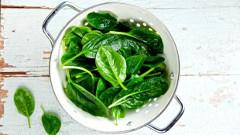 ako variť špenát