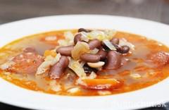 priprava madarskej fazulovej polievky