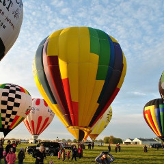 let balónom ako správny darček na Vianoce